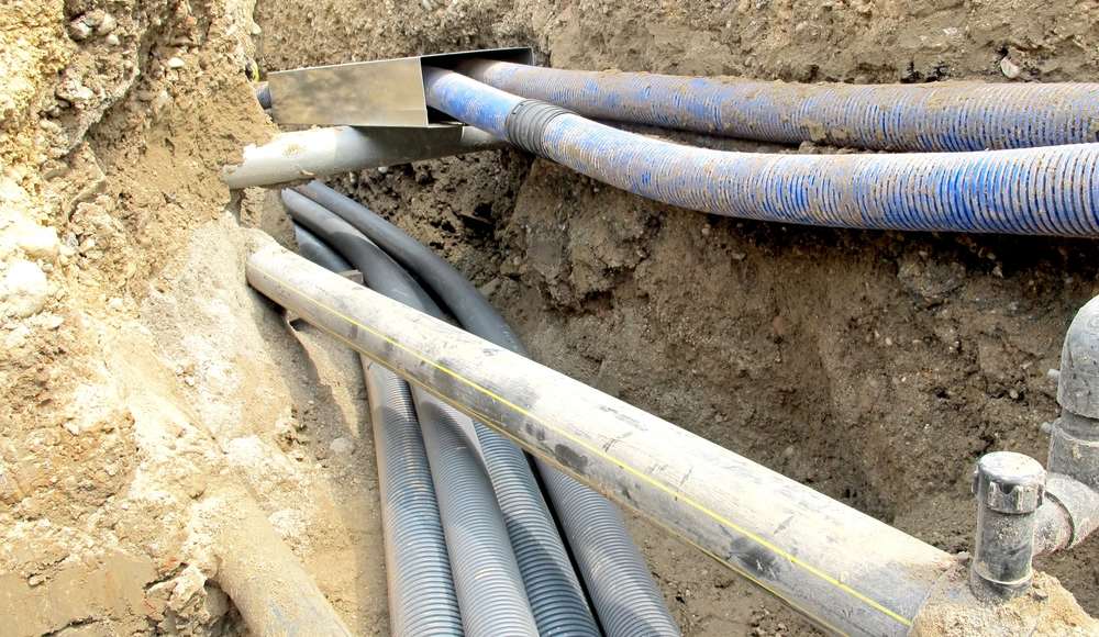 pipes when digging