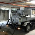 low clearance vacuum tanker